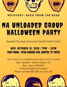 NA Unloaded Group Halloween Party @ Dart Bowl   Austin   Texas   United States