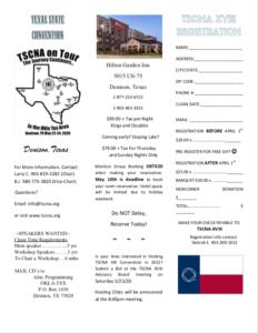 TSCNA 2020 (Texas State Convention of NA) @ Hilton Garden Inn | Denison | Texas | United States